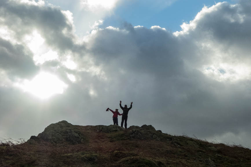 Summit of Todd Crag, Loughrigg Fell