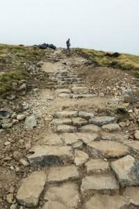 Footpath repair at Crinkle Crags