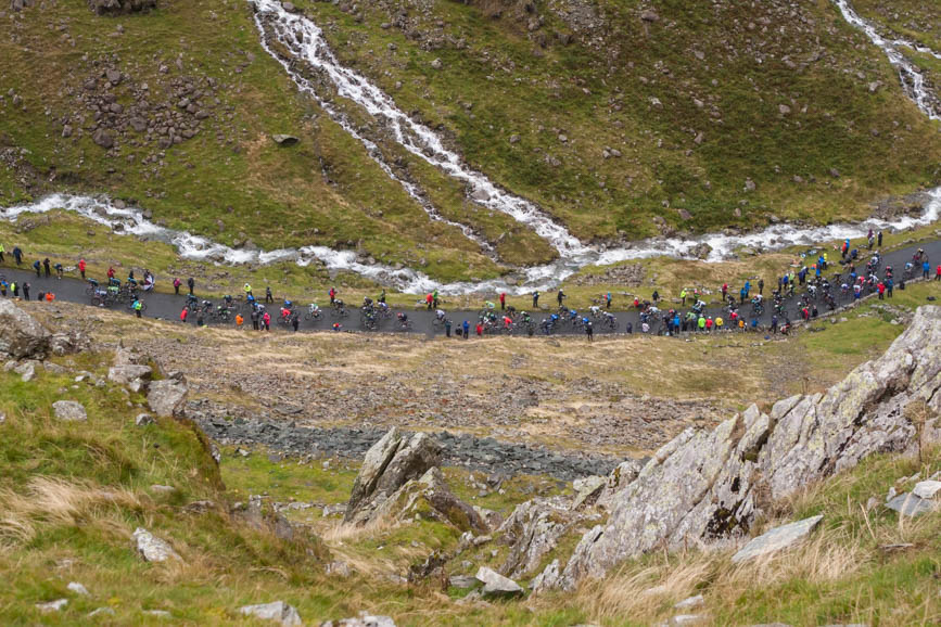 Tour of Britain, Honister Pass, Cumbria