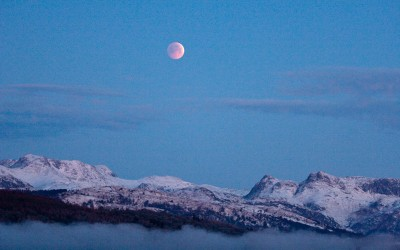 Eclipsed over Langdale