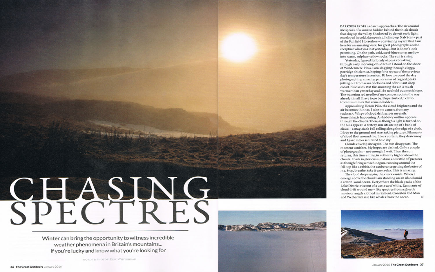 Chasing Spectres, published The Great Outdoors